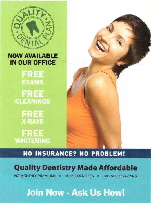 Quality Dental Plan Ad | Dentist Evansville IN