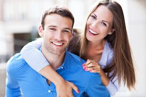 a couple smiles | cosmetic dentistry evansville in