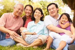 A family smiles | General dentist evansville
