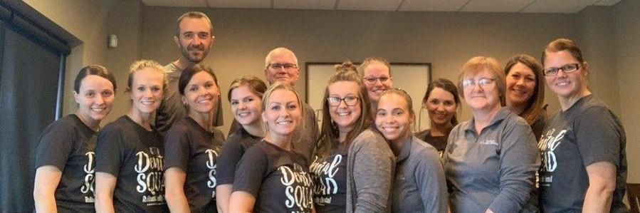 Dental team at Reliant Family Dental l Cosmetic Dentist Evansville, IN
