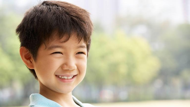 Smiling young boy | Dentist Evansville IN